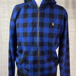Polo Ralph Lauren Zip Up Hooded Jacket Sweatshirt